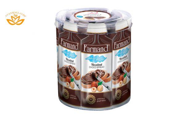 شکلات صبحانه ساشه بانکو 15 گرمی فرمند در کارتن 144 عددی
