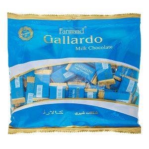 عکس شاخص شکلات شیری گالاردو 330 گرمی فرمند در کارتن 4 عددی