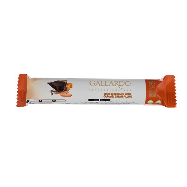عکس شاخص شکلات با مغز کارامل بار گالارد 25 گرمی فرمند در 6 جعبه 24 عددی