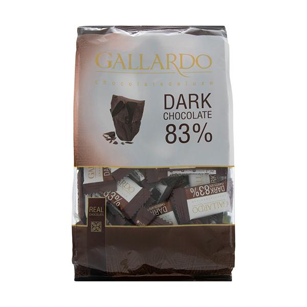 عکس شاخص شکلات تلخ 83 درصد تابلت گالارد 25 گرمی فرمند در 6 جعبه 24 عددی