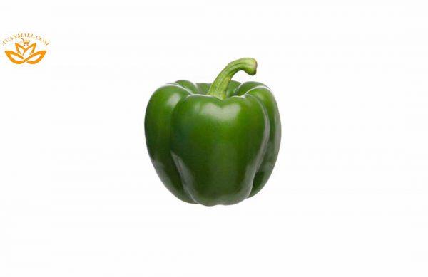 فلفل دلمه سبز سایز درشت در سبد 10 کیلوگرمی