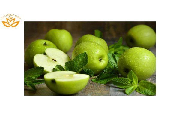 سیب سبز فرانسه لوکس در سبد 10 کیلوگرمی