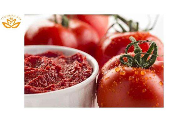 گوجه فرنگی در سبد 10 کیلوگرمی