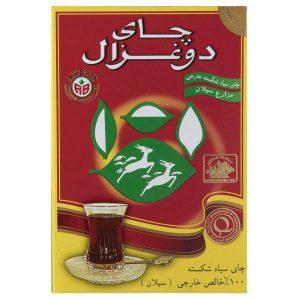 عکس شاخص چای دوغزال ساده ۵۰۰ گرمی در کارتن 24 عددی