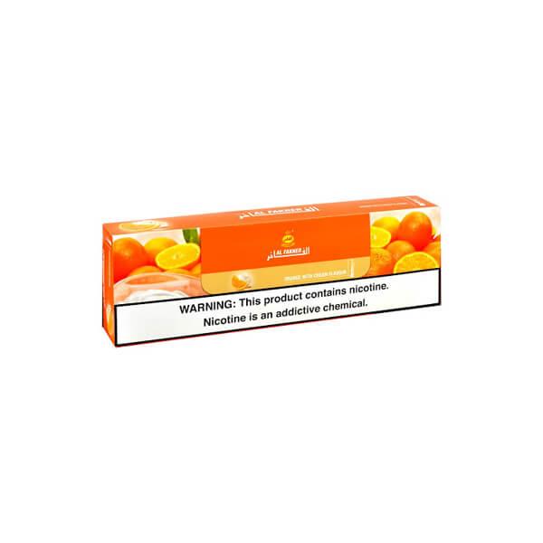 تنباکو پرتقال خامه 50 گرمی الفاخر در باکس 10 عددی