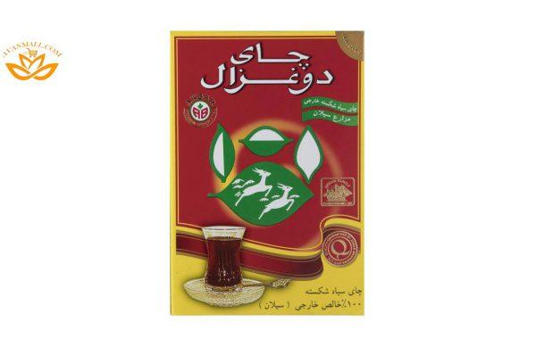 چای دوغزال ساده ۵۰۰ گرمی در کارتن 24 عددی