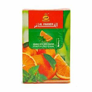 عکس شاخص،تنباکو پرتقال نعناع 50 گرمی الفاخر در باکس 10 عددی