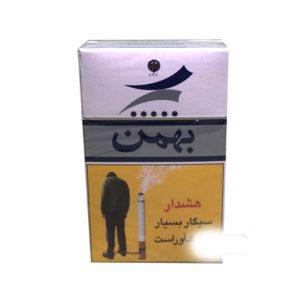 عکس شاخص،سیگار بهمن الترا لایت بسته 10 عددی