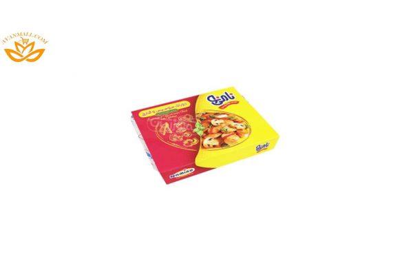 خوراک سوسیس و قارچ 500 گرمی نامی نو در کارتن 15 عددی