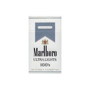 عکس شاخص سیگار مارلبرو الترا در بسته 10 عددی